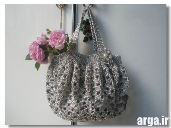 کیف های زیبای بافتنی