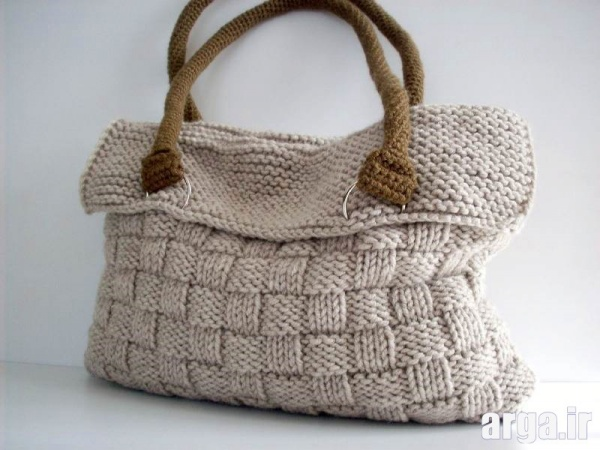 کیف های جدید بافتنی