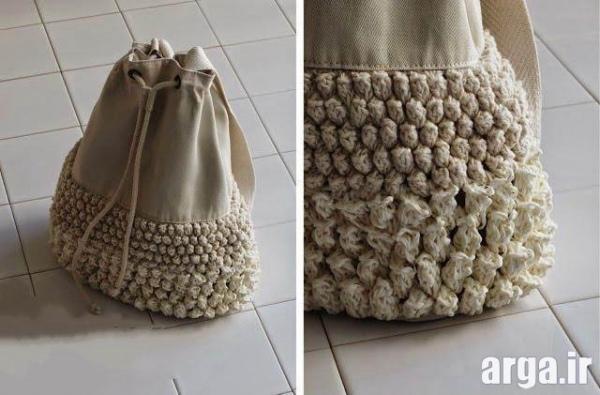 انواع زیبا از کیف بافتنی