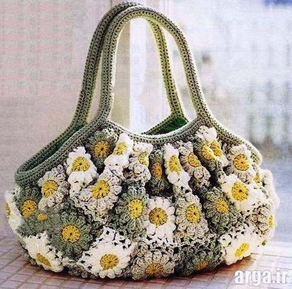 کیف بافتنی جدید