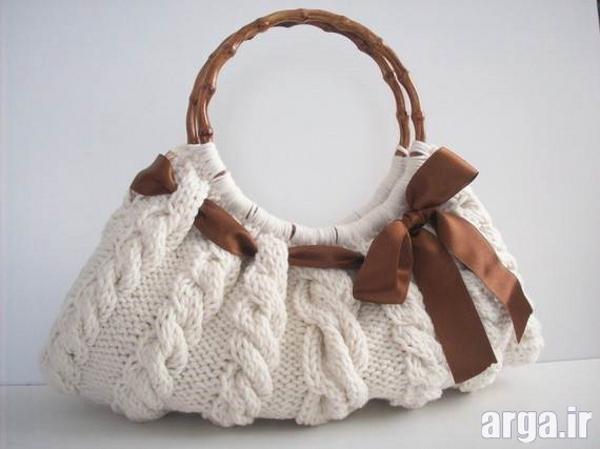 کیف بافتنی مدرن