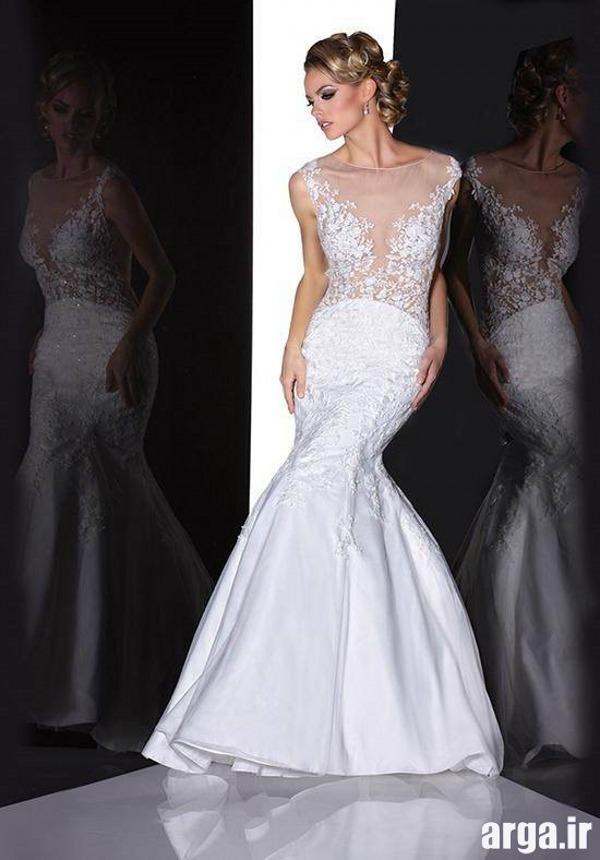 انواع زیبا از لباس های باکلاس عروس