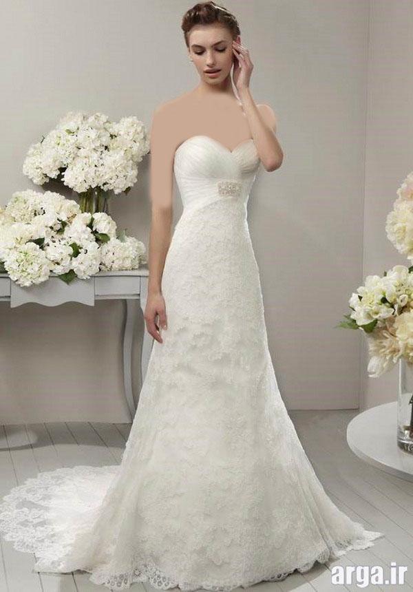 انواع جدید از لباس های باکلاس عروس