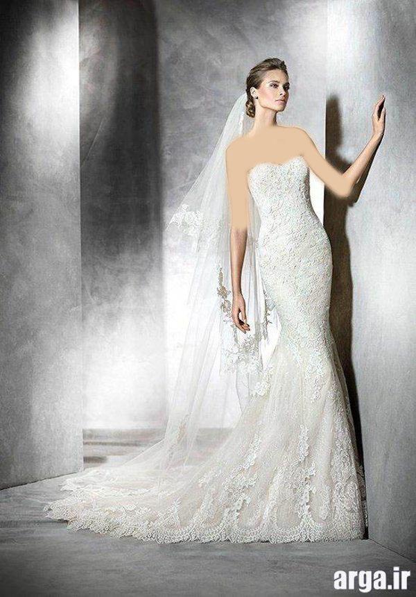 انواع شیک از لباس های باکلاس عروس
