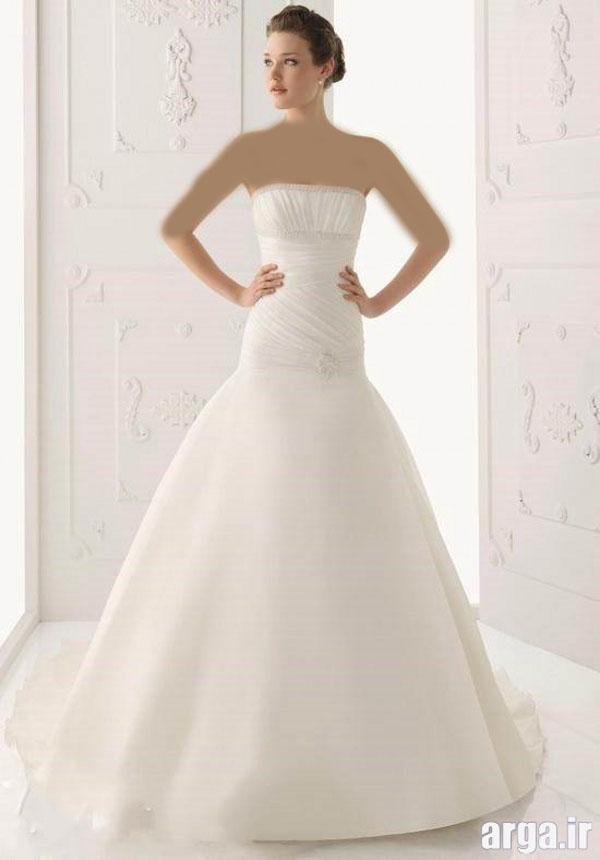 انواع مدرن از لباس های باکلاس عروس