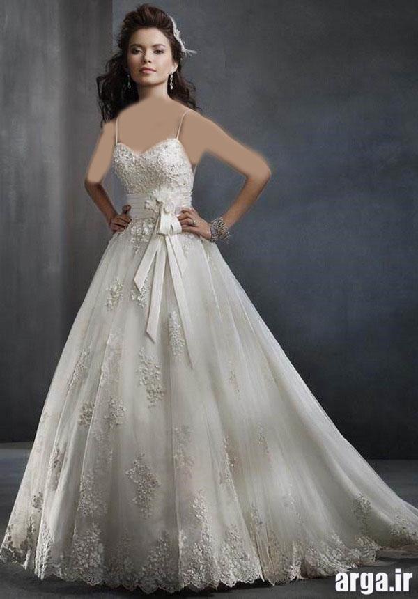 انواع جذاب از لباس های باکلاس عروس