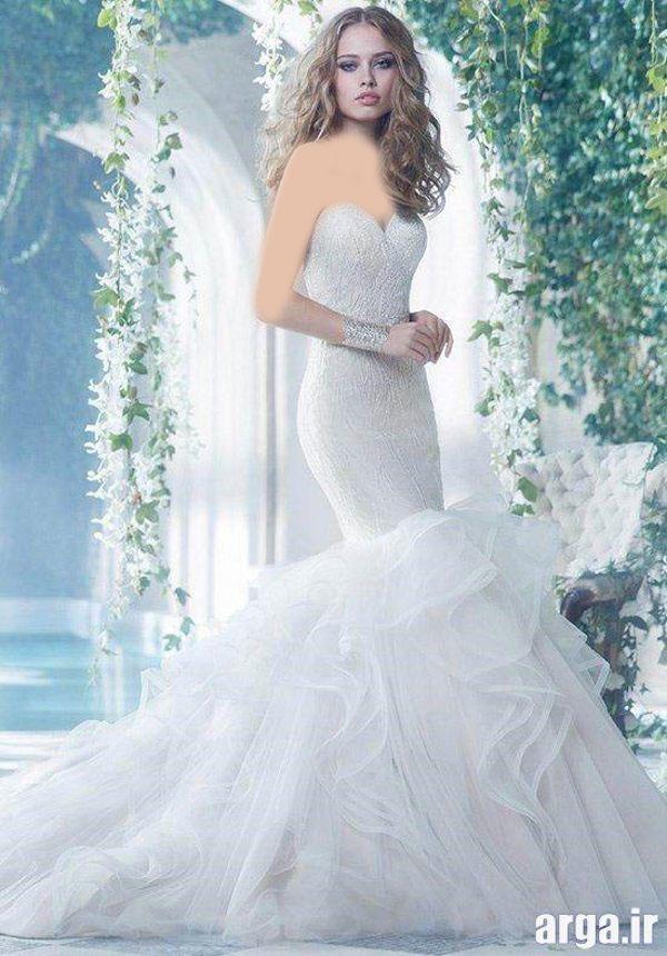 لباس های عروس در مدل های جدید
