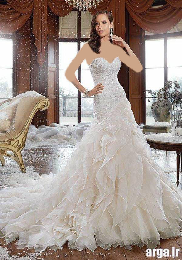 لباس های مدرن عروس