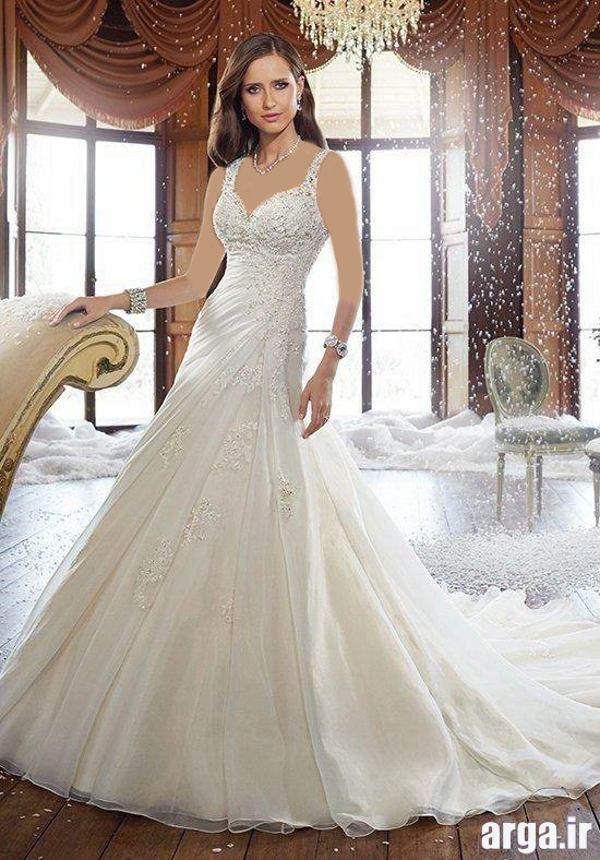 لباس عروس های جذاب و شیک