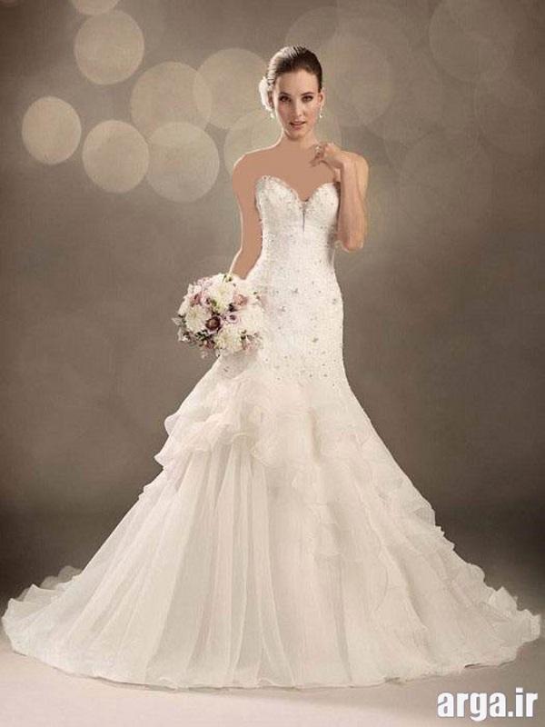 مدل زیبا لباس عروس پاییز 94