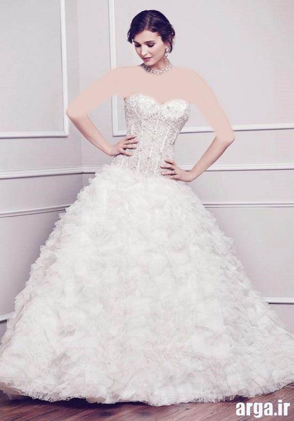 مدل لباس زیبای عروس
