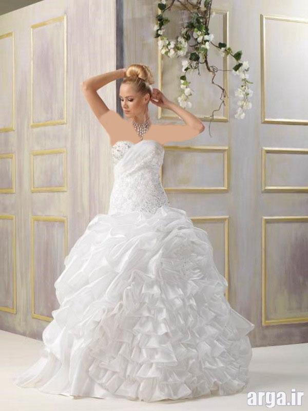مدل لباس جذاب عروس