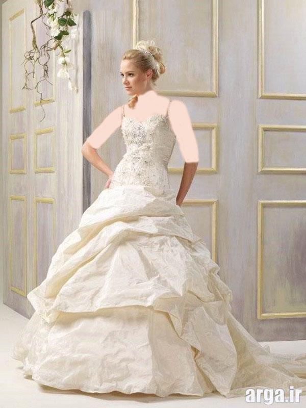 انواع زیبای لباس عروس