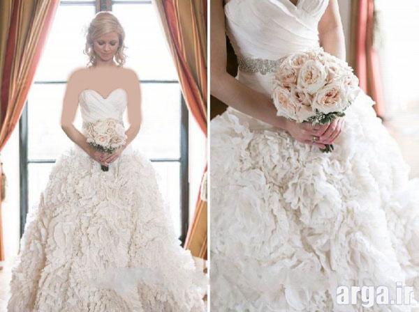 انواع جدید لباس عروس
