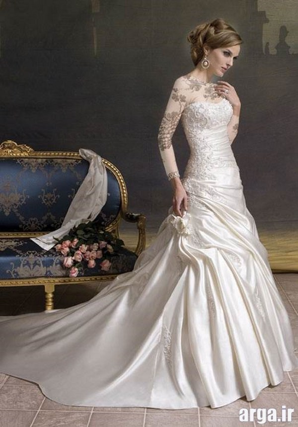 انواع شیک لباس عروس