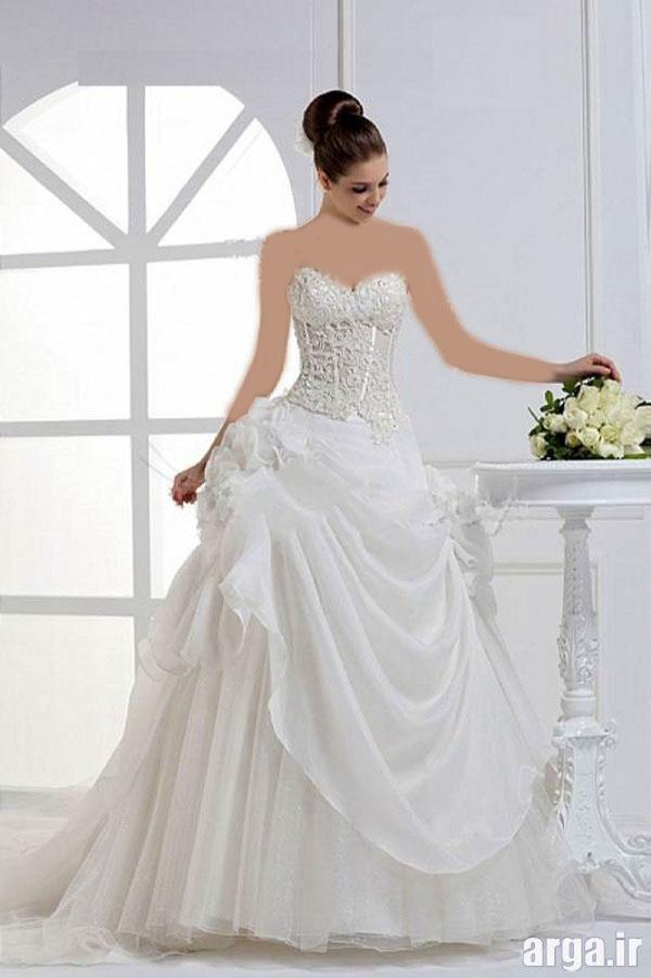انواع مدرن لباس عروس