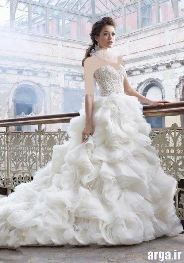 مدل جدید لباس عروس پاییز 94