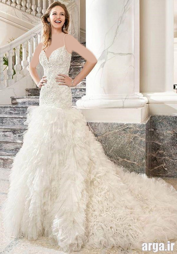 مدل شیک لباس عروس پاییز 94