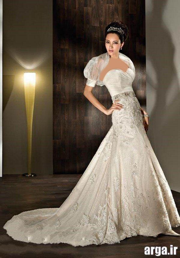 مدل جذاب لباس عروس پاییز 94