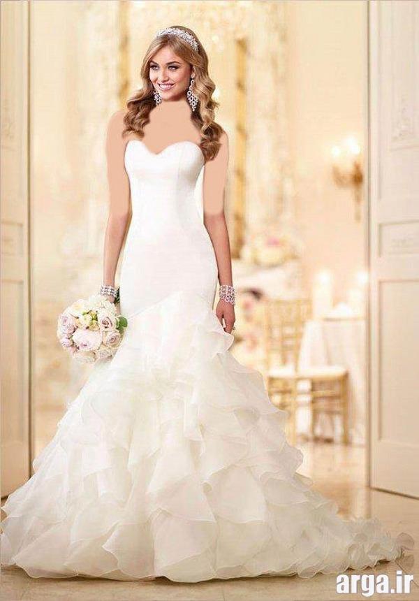 لباس عروس زیبا پرنسسی