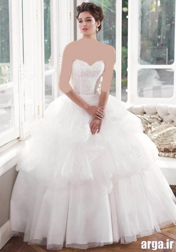 لباس عروس جدید پرنسسی