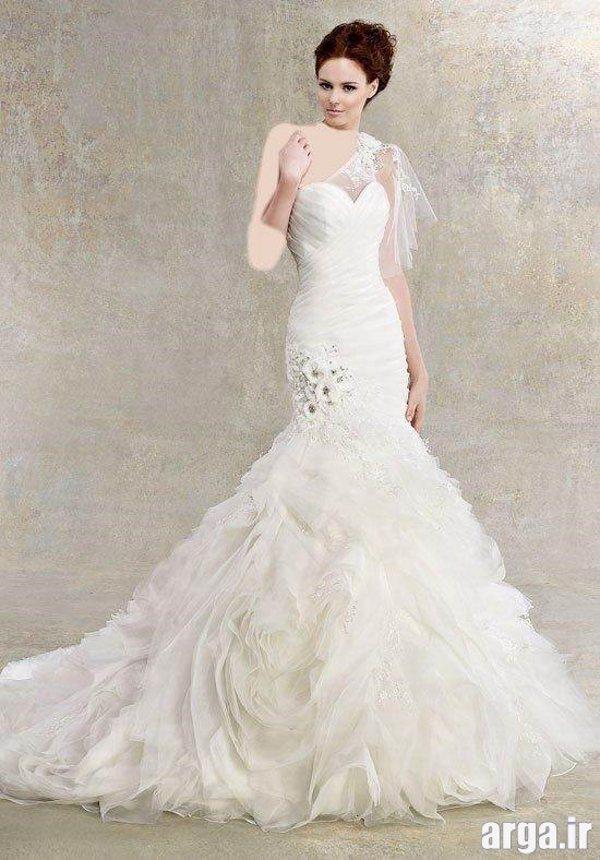 مدل لباس عروس پرنسسی شیک