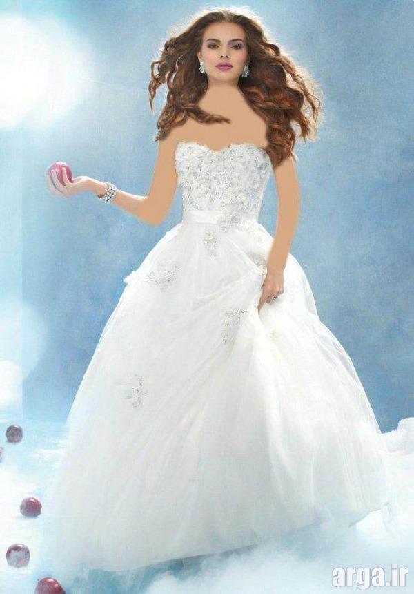 لباس عروس پرنسسی شیک