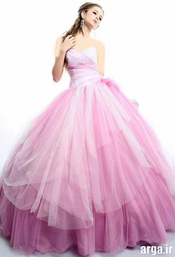لباس های رنگی عروس زیبا