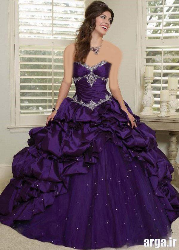 لباس های رنگی عروس مدرن