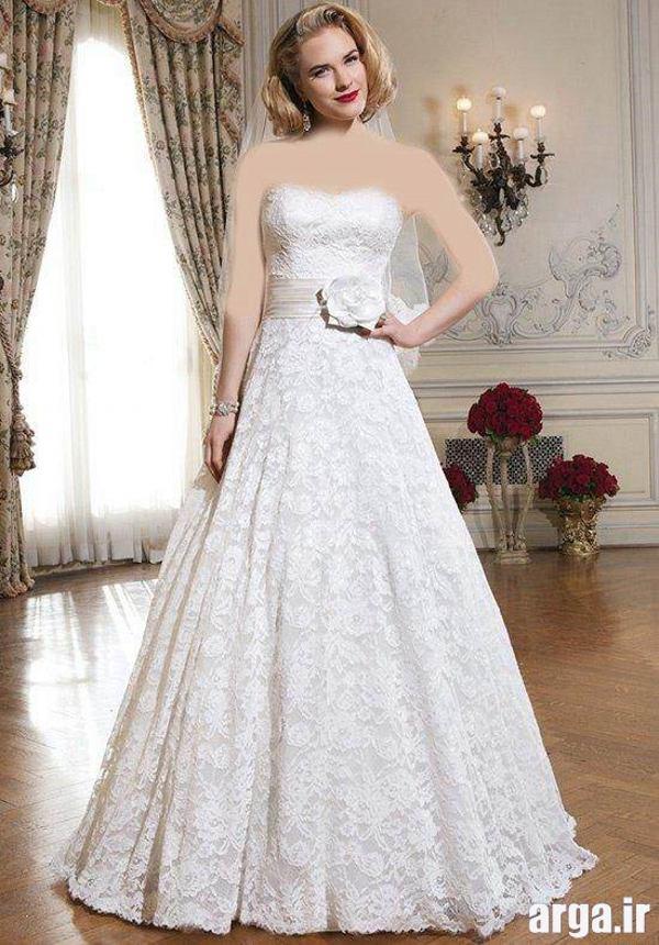 لباس عروس جذاب
