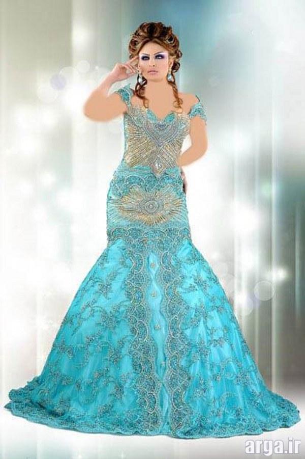 لباس های زیبا مجلسی عربی
