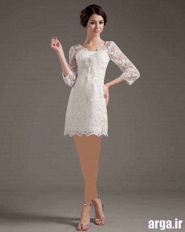 لباس مجلسی کوتاه دخترانه جدید