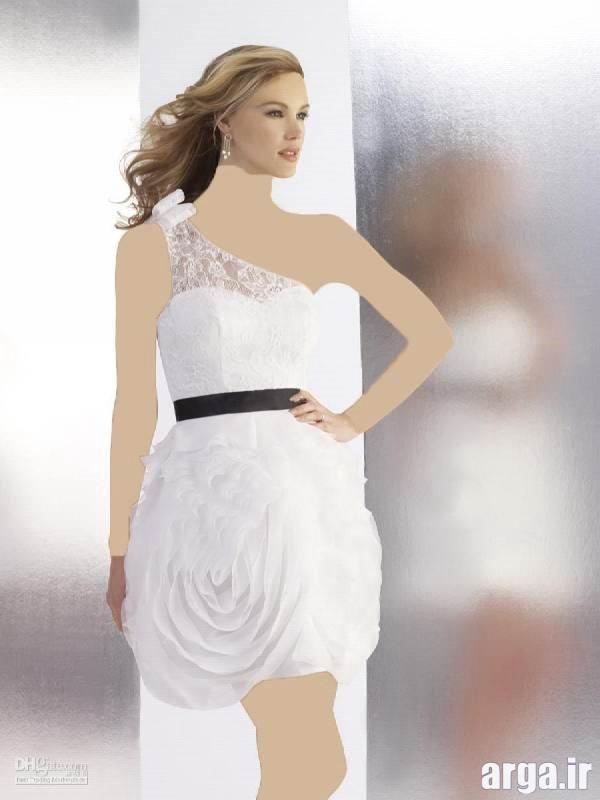 لباس مجلسی کوتاه دخترانه جذاب