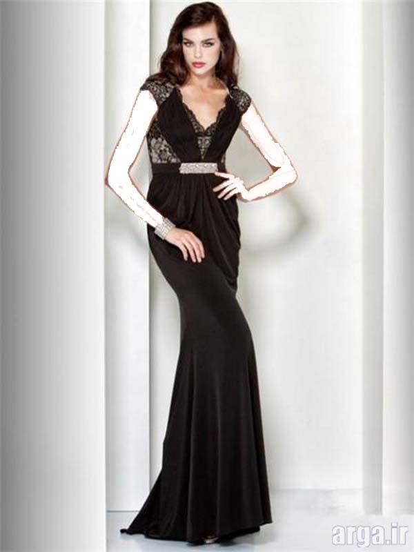 لباس مجلسی مشکی زیبا