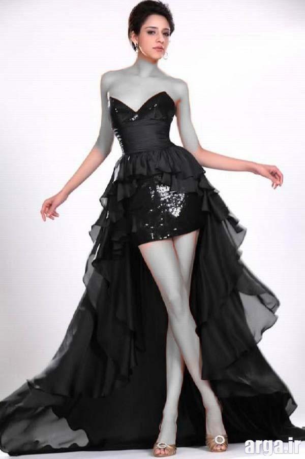لباس جدید مجلسی مشکی