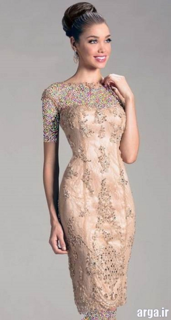 مدل لباس شب شیک گیپور