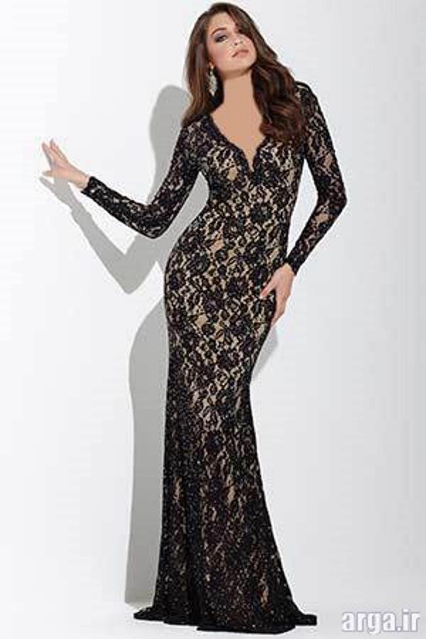 لباس شب گیپور جذاب