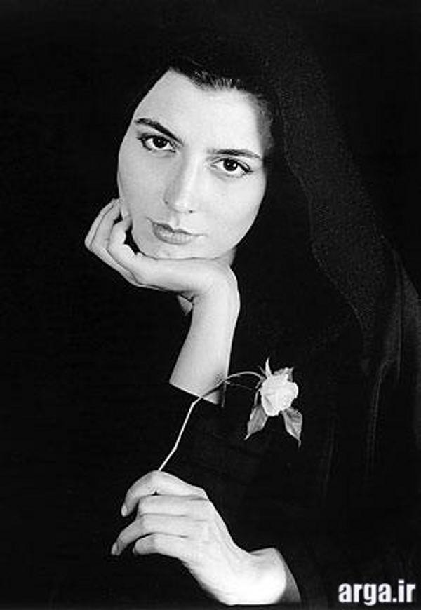 لیلا حاتمی در تصویر سیاه و سفید