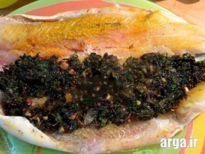 ماهی قزل آلا شکم پر