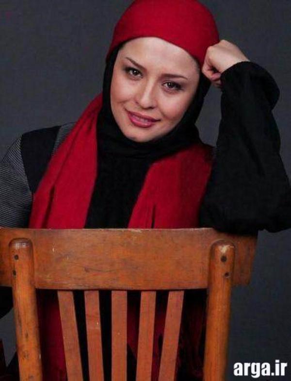 مهراوه شریفی نیا با ژستی زیبا