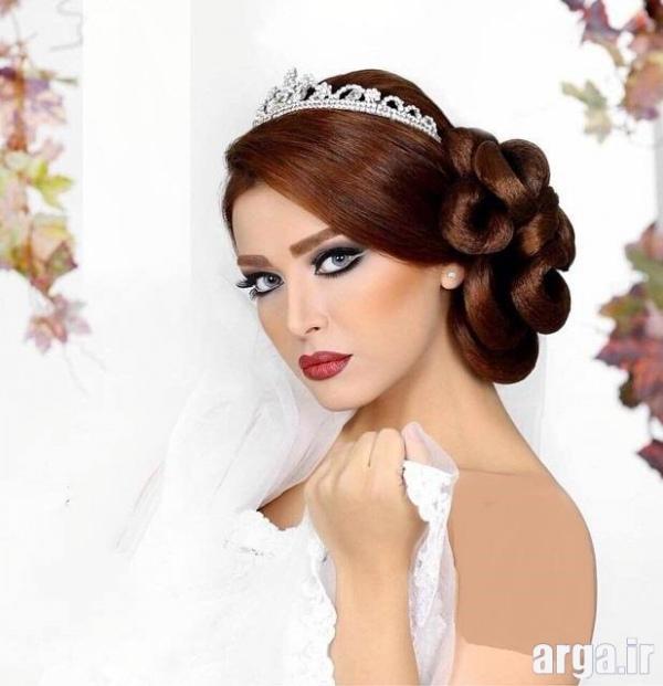 مدل موی عروس 2016 زیبا