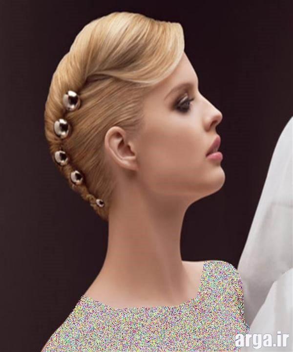 مدل زیبا موی عروس