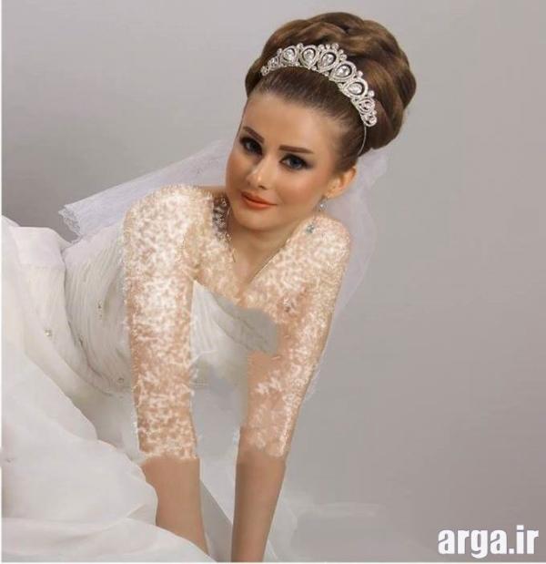 مدل جذاب موی عروس