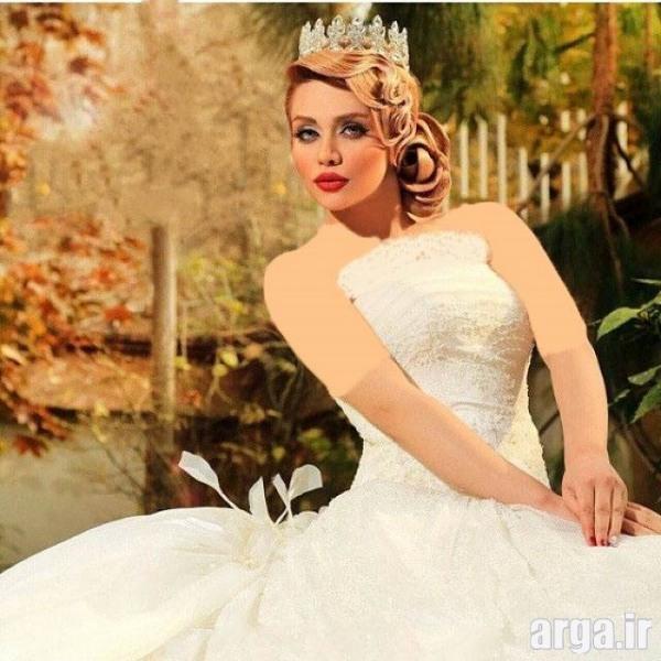 مدل موی عروس 2016 مدرن