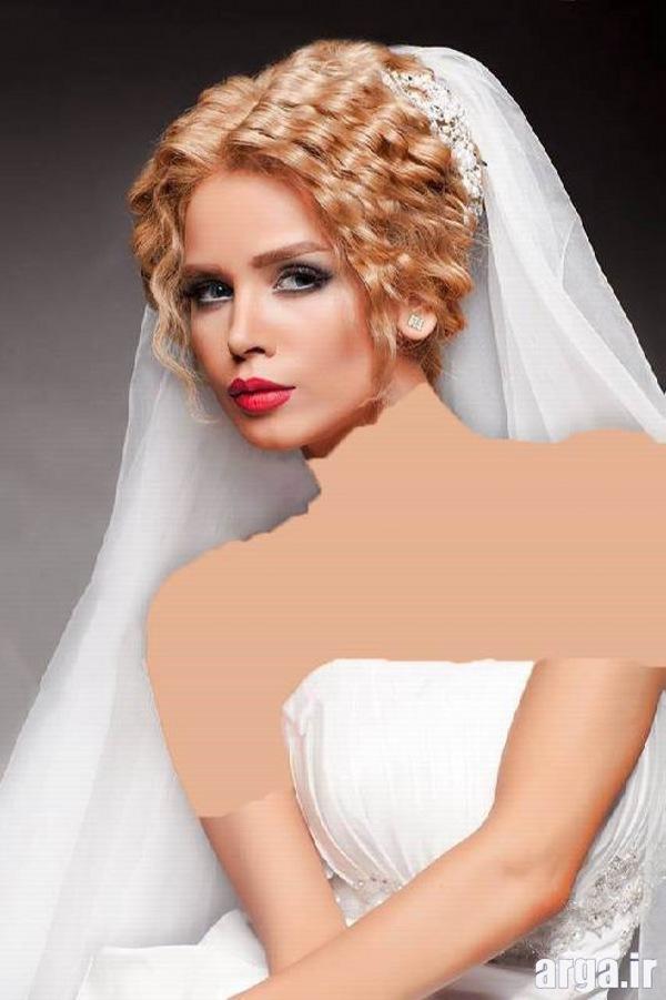 مدل موی عروس 2016 جذاب