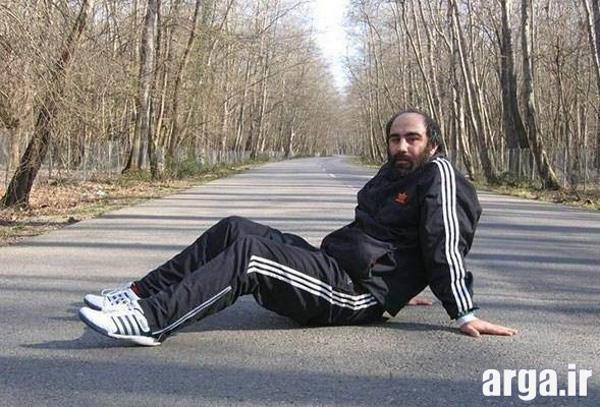 تنابنده در حال ورزش