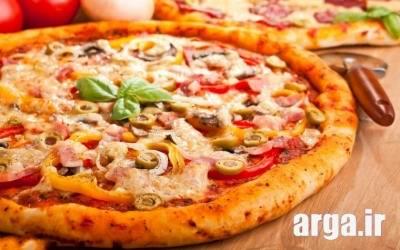 لذیذترین پیتزا پپرونی