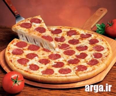 خمیر پیتزا پپرونی