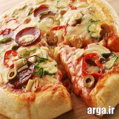 دمای لازم برای طبخ پیتزا پپرونی