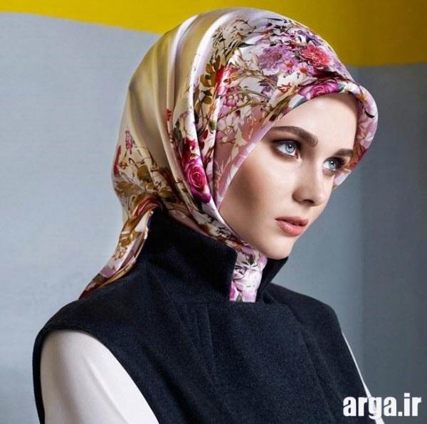 شیوه های شیک بستن روسری